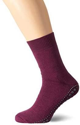 Falke Men Homepads socks, 1 pair, UK size 8.5-11 (EU 43-46),cotton mix - Ideal all seasons home sock, warm, plush sole, non slip sole