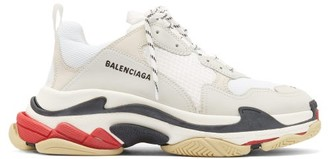 Balenciaga Triple S Low-top Trainers - White
