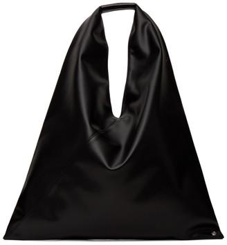 MM6 MAISON MARGIELA Black Medium Triangle Tote