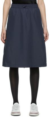 Thom Browne Navy Flyweight Gusset Skirt