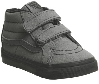 Vans Sk8 Mid Reissue Toddler Trainers Vansbuck Forged Iron Black