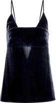 Cushnie et Ochs Cutout velvet camsiole