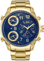 JBW Men's J6248K G4 Analog Dial Gold Plated Stainless Steel Watch