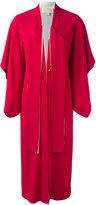 Antonio Berardi long kimono coat - women - Acetate/Rayon - 44