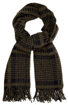 Acne Studios Canada checked wool-blend scarf
