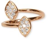 BETTINA JAVAHERI Diamond Double Marquis Ring