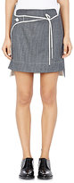 Paco Rabanne WOMEN'S WRAP-PANEL SKIRT