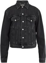 Balenciaga Sinners-embroidered denim jacket