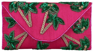 FROM ST XAVIER FSX201S105 Tropica Flap Over Clutch Bag