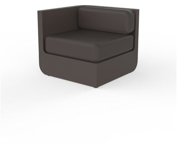 Vondom Ulm Patio Daybed With Cushions Color Black Shopstyle Home Living