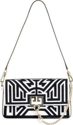 Givenchy Tufted Labyrinth Charm Shoulder Bag