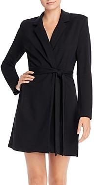 French Connection Sadira Lula Lapeled Wrap Dress