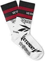 Vetements - + Reebock Cut & Sew Cotton Socks