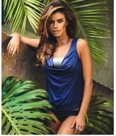 Luxe by Lisa Vogel Premiere Draped Tankini