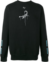 Off-White scorpion print sweatshirt - men - Cotton - XS