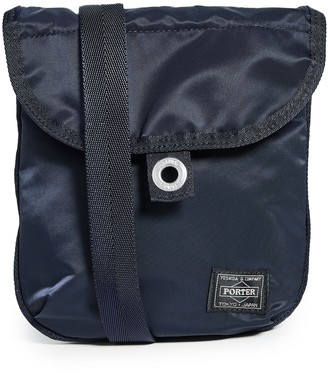 Porter Frame Small Shoulder Bag with Button