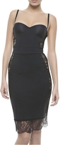 La Perla Black Lycra Shape-Allure Dress