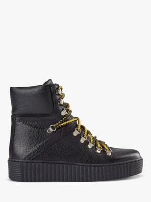 Shoe The Bear Agda Leather Lace Up Boots