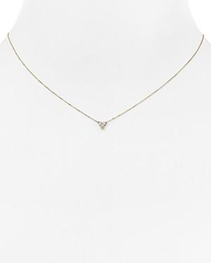 Adina Diamond Cluster Necklace, 15