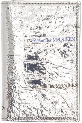 Alexander McQueen Silver Pocket Organizer