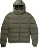 Aspesi Quilted Shell Hooded Down Jacket