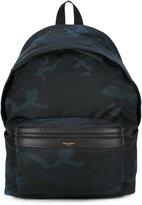 Saint Laurent camouflage Hunt backpack - men - Cotton - One Size