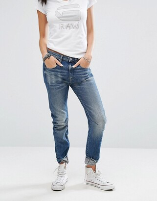 G Star G-Star arc 3d low rise boyfriend jeans-Blue