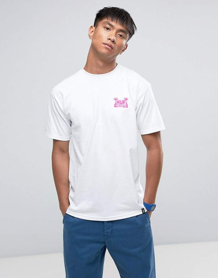 HUF T-Shirt With Dbc Back Print