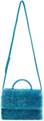 Off-White Blue Merino Jitney 1.4 Bag