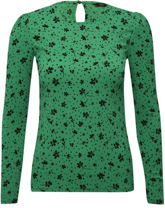 M&Co Ditsy floral top
