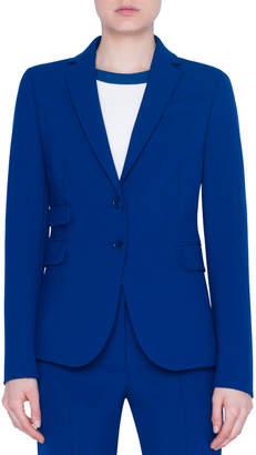 Akris Punto Jersey Two-Button Blazer
