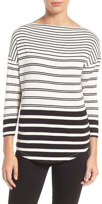 Halogen Bateau Neck Top