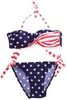 AshopZ Two-Piece USA Fag Bikini Stars Stripes Padded Swimwear Swimsuit