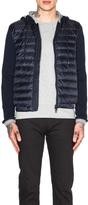 Moncler Cardigan Jacket with Hood