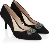 Monsoon Diana Knot Trim Court Shoe