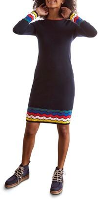 Boden Frederica Stripe Sweater Dress