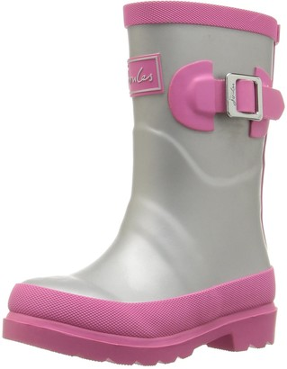 Joules JNR Girls Field Welly Rain Boot (Infant/Toddler/Little Kid/Big Kid)