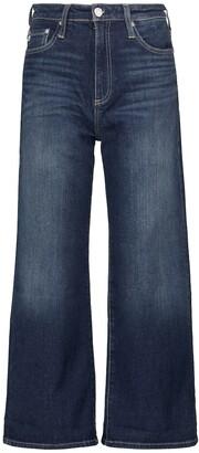 Etta cropped wide-leg jeans
