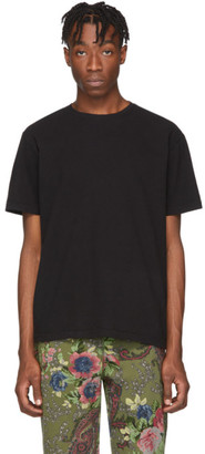 Noah NYC Black Recycled Cotton T-Shirt