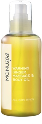 Monuspa Warming Ginger Bath & Body Oil