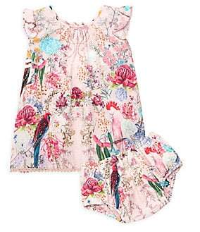 Camilla Baby Girl's Floral Top & Bloomers Two-Piece Set