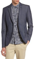 Topman Men's Slim Fit Jersey Blazer