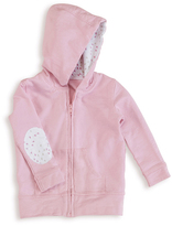 Aden Anais Lovely Pink Cotton Jersey Hoodie