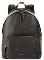 Burberry Abbeydale Grained Leather Backpack