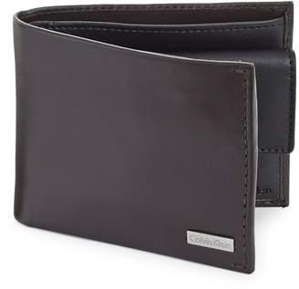 Calvin Klein Bi-fold Leather Wallet