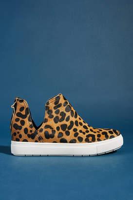 Steve Madden Steven by Caprice Leopard Platform Sneakers
