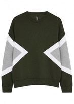 Neil Barrett Modernist Panelled Neoprene Sweatshirt