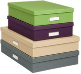 Library Office Storage Boxes