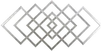 Sagebrook Home Diamond Metal Wall Decor