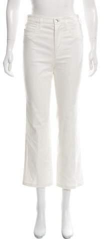 Louis Vuitton High-Rise Straight Leg Jeans